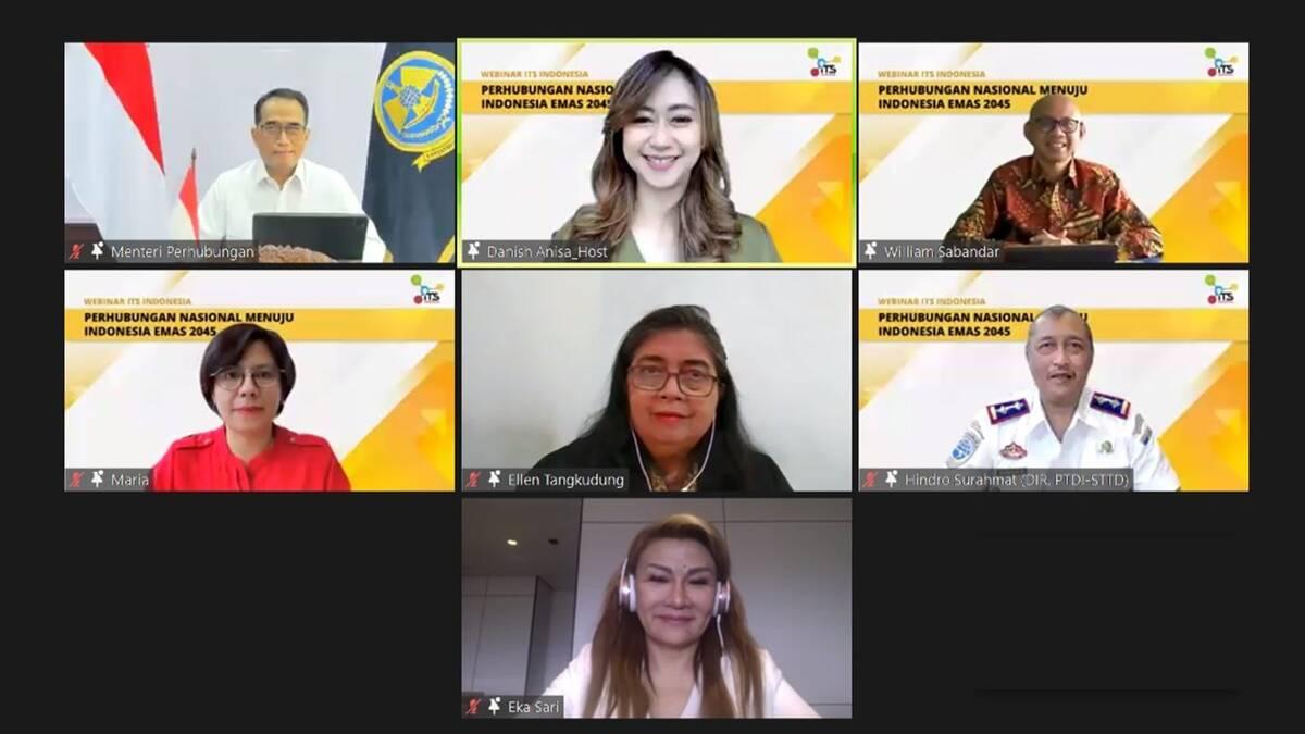 Webinar Perhubungan Nasional Menuju Indonesia Emas 2045