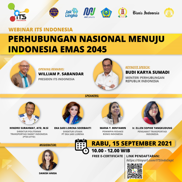 Perhubungan Nasional Menuju Indonesia Emas 2045
