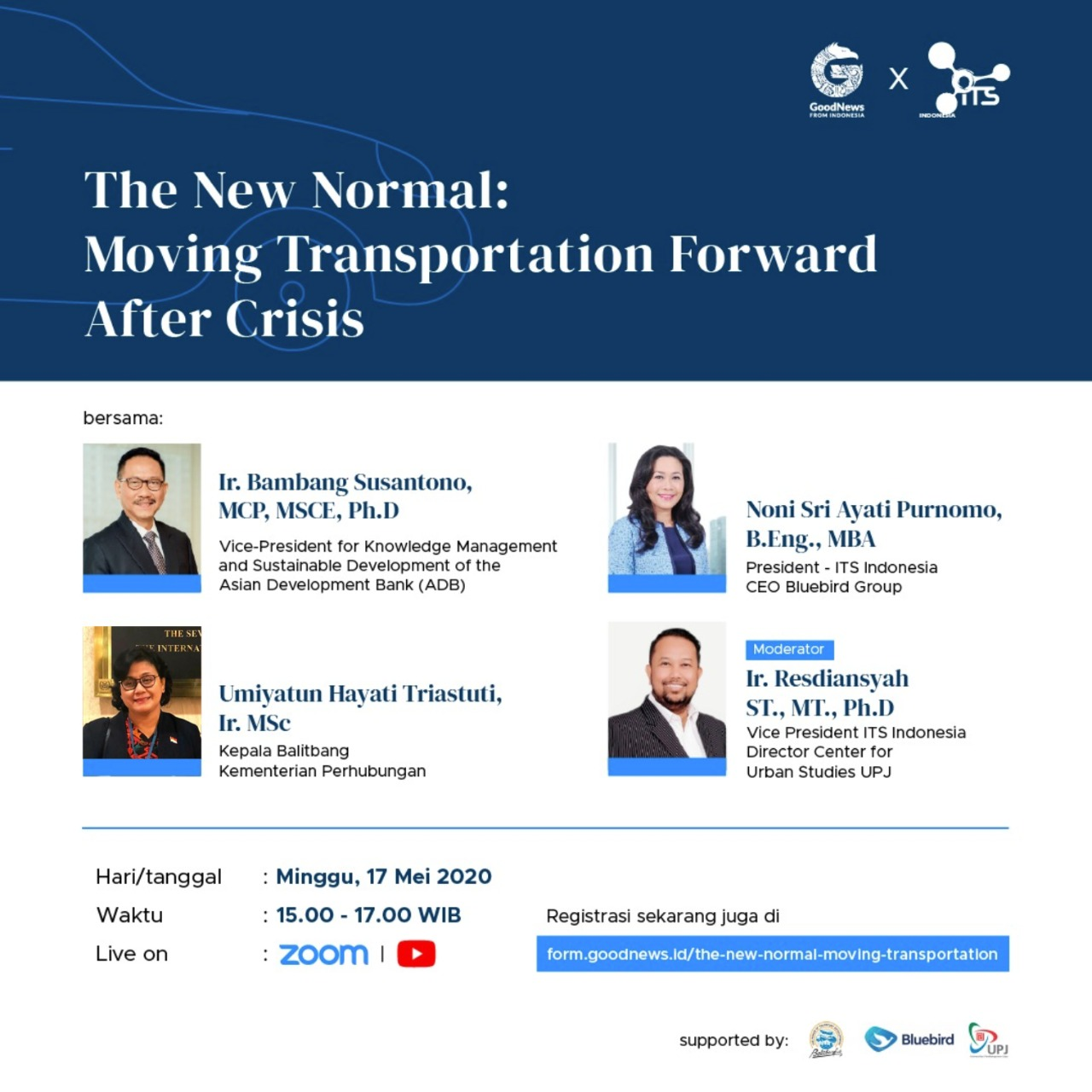 The New Normal: Moving Transportation Forward After Crisis