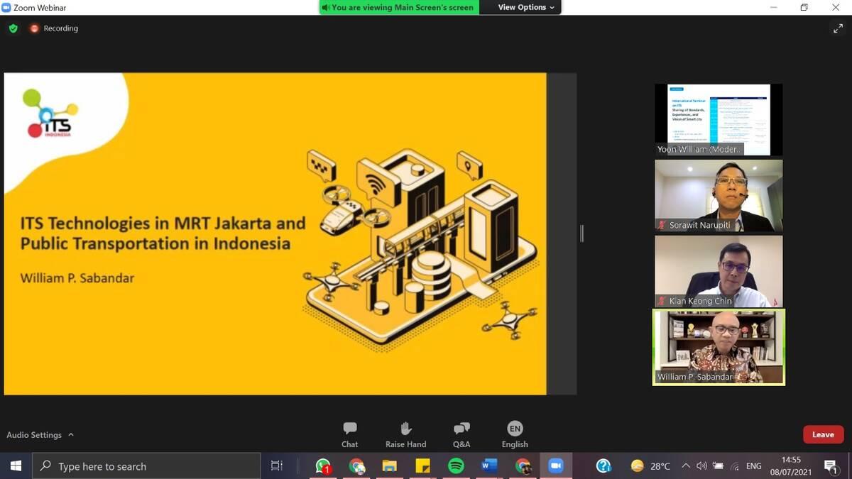 ITS Indonesia Jaring Kerjasama Dengan ITS Korea Melalui Bidang Teknologi dan Standarisasi