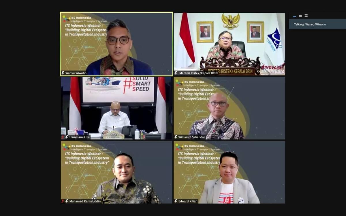ITS Indonesia Menggelar Webinar Bertemakan Building Digital Ecosystem in Transportation Industry