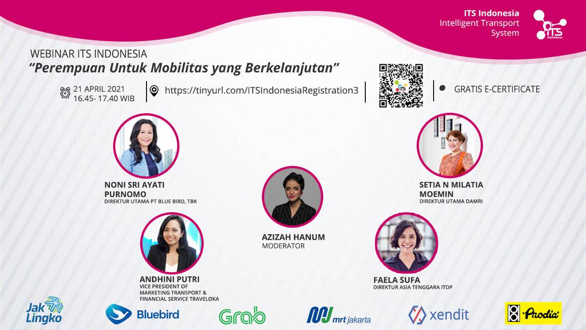 Webinar: Perempuan Untuk Mobilitas yang Berkelanjutan
